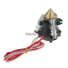 1.75mm Hotend 3 In 1 Out V6 0.4mm Nozzle Multi Color Extruder Assembly Kit Set