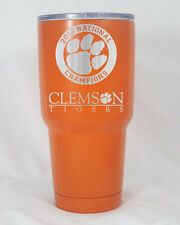 YETI 30 oz cup Clemson Tiger National Champs coated personalized engraved