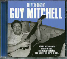 THE VERY BEST OF GUY MITCHELL CD - LOOK AT THAT GIRL, ROCK-A-BILLY & MORE
