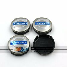 4 PCS VOLVO GRAY CENTER WHEEL COVER HUB CAPS EMBLEM RIM BADGE 3546923 Free P&P