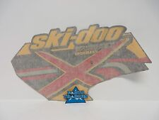 NOS SkiDoo Left Side Decal Summit Highmark X 1000 SDI Red Yellow Black 2005