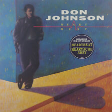 """12"""" LP - Don Johnson - Heartbeat - k2260 - washed & cleaned"""