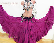 Rasberry Sherbert 35 Yd  Skirt Gypsy Tribal Fusion Belly Dance ATS