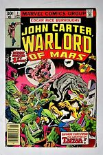 Marvel / John Carter Warlord of Mars comics / 13 reg issues / 3 annuals / VG
