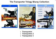 TRANSPORTER TRILOGY BLU RAY TRIPLE PACK SET PART 1 2 3 Jason Statham Box New UK