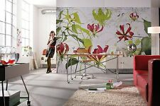 Wall Mural Photo Wallpaper GLORIOSA FLOWERS Abstract Textures Living Room Decor