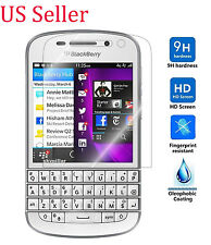 9H ULTRA CLEAR TEMPER GLASS SCREEN PROTECTOR For BlackBerry Q10