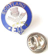 Escocia Cardo Nombre De Clan Insignia Con Alfiler De Solapa Esmaltada
