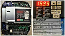 RELIANCE ELECTRIC GV3000/SE 7.5 HP 7V2160 FIRMWARE 6.04 AC DRIVE TESTED GOOD