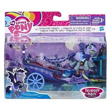 My Little Pony Friendship Is Magic Collection Moonlight Chariot with Pony Figure