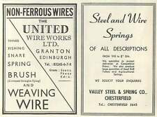 1953 Valley Steel & Spring Co Chesterfield Ad