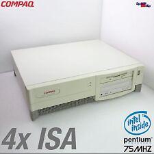 4x ISA SLOT COMPAQ COMPUTER PC MIT CPU INTEL PENTIUM 1 75MHZ WINDOWS 95 98 DOS