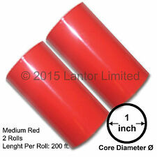 """Hot Stamp Foil Stamping Tipper Kingsley 2Rolls3""""x200ftMedium Red#YED-6500-S2-1""""#"""