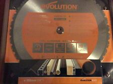 Evolution Rage 355mm 25.4mm Bore, 36t TCT Multipurpose Circular Saw Blade NEW