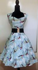 Retrolicious Folter Whistle While You Quirk Dress Sweetheart Neck Pinup Modcloth