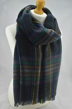 Winter Tartan Plaid Checked Scarf Pashmina Shawl Warm Wrap Fashion Stole Unisex