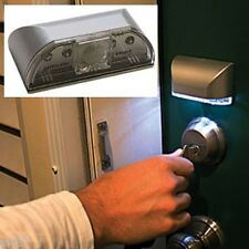 OVER-THE-KEY HOLE LIGHT Sensor Motion activated Detector New