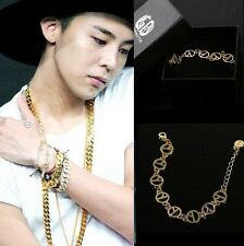 G-dragon gd coup detat bigbang made ALLOY BRACELET Kpop New