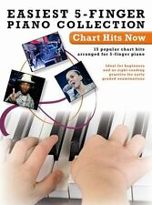 Easiest 5-Finger Piano Chart Hits Now LORDE Learn to Play KATY PERRY Music Book