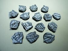 32mm  RESIN BASES CONTAINER CARGO 15 pcs WARHAMMER 40K