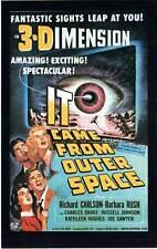 FICHE DE L'AFFICHE : IT CAME FROM OUTER SPACE - Arnold 1953 Météore de la nuit