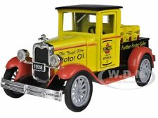 "1928 CHEVROLET ""PENNZOIL"" PICK UP TRUCK 1/32 DIECAST CAR MODEL BY NEW RAY 55003A"