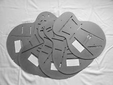 Guitar Profile and Brace Pattern Stencils --  Gibson Styles (5) Pack