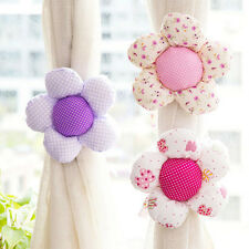 Sun Flower Baby Kid Girl Nursery Bedroom Curtain Tie Backs Holdback Holder Decor