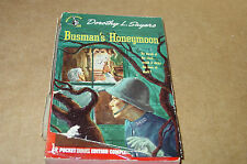 Busman's Honeymoon by Dorothy L Sayers  (1946)   Rare Dustjacket Edition P/B