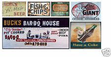 N Scale Food & Beverage Building / Structure Decals #4