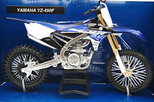 YAMAHA  YZ-450F  2015  1/12th   MODEL  MOTORCYCLE BLUE