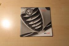 01400) Alfa Romeo 147 - Preise & Extras - Prospekt 01/2001