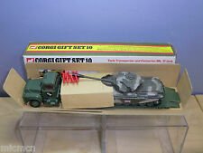 CORGI MODEL  MODEL  No.GS.10  TANK TRANSPORTER SET    VN MIB