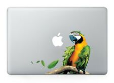 "Tropical Parrot Bird Vinyl Decal Sticker Macbook Air/Pro/Retina 13""15""17"" Laptop"