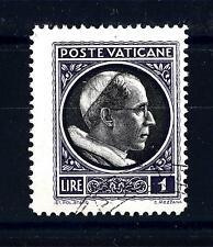 "VATICANO - 1940 - 1 L - Serie ""Medaglioncini"". Effigie di Pio XII"