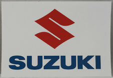 Suzuki Motorcycle Sticker, decal for bikers, stick on bikes, cars, helmets