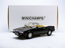 Minichamps 1986 MASERATI BITURBO SPIDER Black in 1/18 Scale New! In Stock!