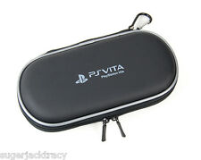 Nero EVA rigida Custodia Portatile per PS Vita PlayStation Vita Slim