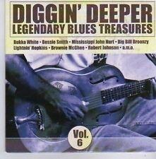 (CK275) Diggin' Deeper, Legendary Blues Treasures [Disc 6] - DJ CD