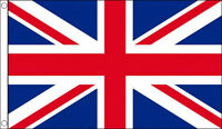 UNION JACK FLAG 5' x 3' Red White and Blue British GB Team Great Britain Flags
