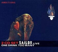 Sailor One drink too many-Live (2005, Ambitions) [2 CD]