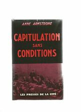 CAPITULATION SANS CONDITIONS - ANNE AMSTRONG