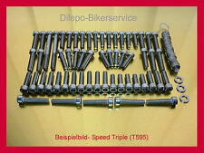 Triumph Speed Triple 955i / 955 i V2A Schrauben Motorschrauben Edelstahl 6-Kant