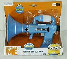 NEW Minions Despicable Me FART BLASTER Sounds Colour Change Light Up Gun Chamber