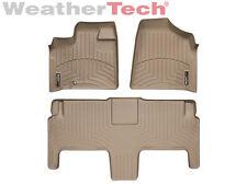 WeatherTech® FloorLiner - Dodge Grand Caravan 2nd Row w/ Bucket - 2008-2012 -Tan
