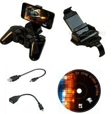 Smart Clip Gameklip Universal Phone Mount For PS3 Controller Fits Any Smartphone
