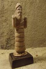Sumerian statue of Enki - Lord of the Earth & Water - The origin of Capricorn
