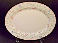 """Johnson Brothers Summer Chintz Large Oval Serving Platter 13"""" EXCELLENT!"""
