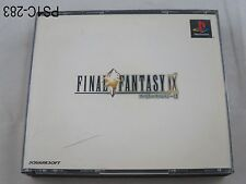 Final Fantasy 9 Playstation 1 Japanese Import PS1 PS Japan IX US Seller C/Fair