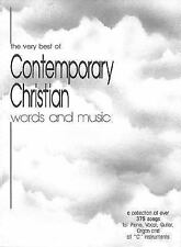 The Very Best of Contemporary Christian Words and Music